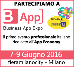 Partecipiamo a Business App Expo